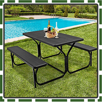 Best Colorful Kids Picnic Table