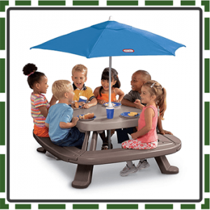 Best Brown Kids Picnic Table