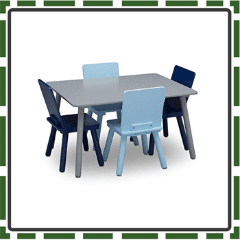 Best Delta Kids Table and Chair