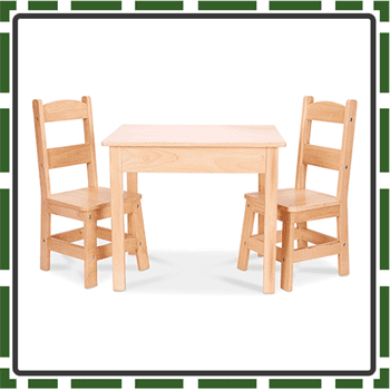 Best Melissa Kids Table and Chair