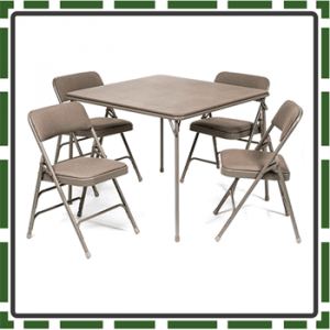 Best Fit Folding Table and Chairs for Kids