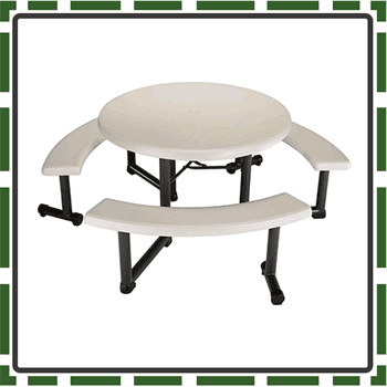 Best Round Kids Picnic Table