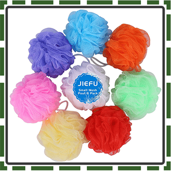 Best Colorful Loofah and Shower Sponges
